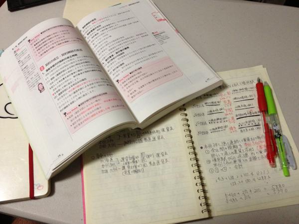 勉強のイメージ