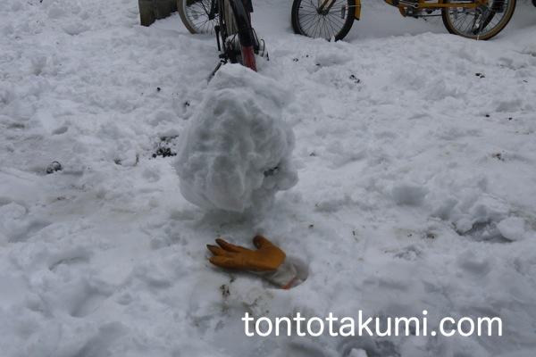 雪だるまの元