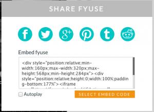 Fyuse-share